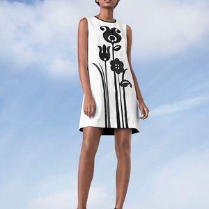 NWT Victoria Beckham for Target black/white dress